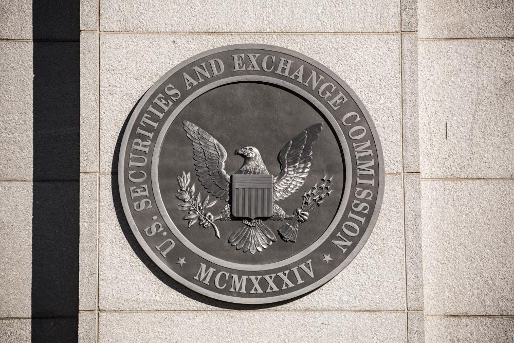 SEC building and logo