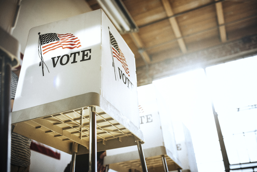 election, voting booth